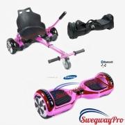 Hoverboards UK Chrome Pink Hoverboard and Kart
