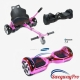 Hoverboards UK Chrome Pink Hoverboard and Kart