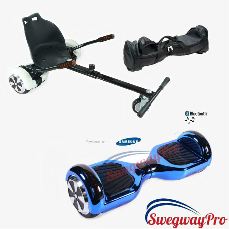 Hoverboard UK Deal of the Week Chrome Blue
