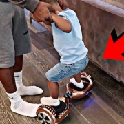 riding Hoverboards for first time