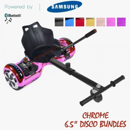 CHROME DISCO HOVERBOARD UK BUNDLES