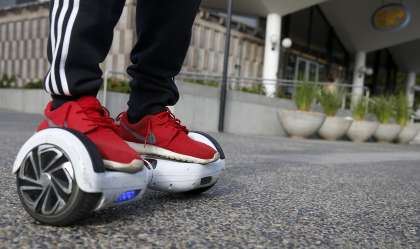 Hoverboards in UK