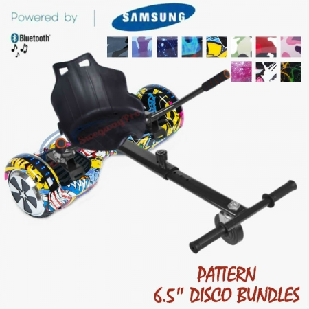 PATTERN DISCO HOVERBOARD UK BUNDLES