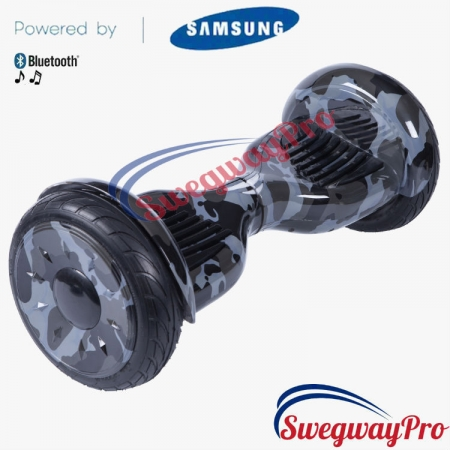 HOVERBOARD UK Black Camo Mammoth Hoverboards