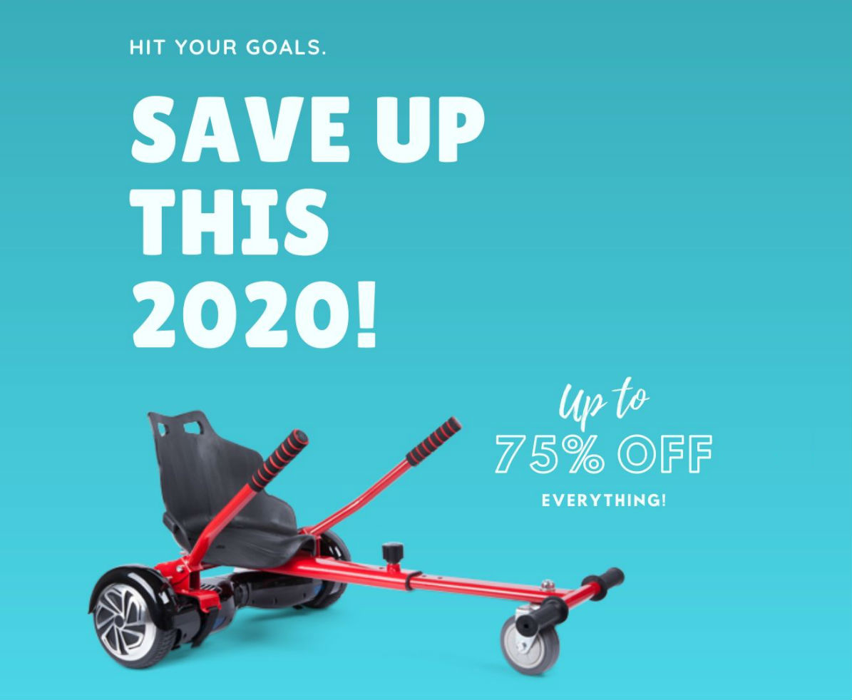 HOVERBOARD UK NEW YEAR SALE 2020