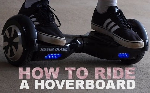 how to use a Hoverboard UK