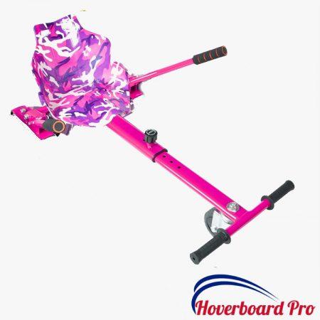 Pink Camo Hoverkart Hoverboard UK